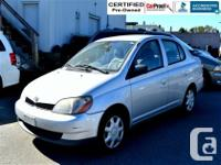 Nice and economical Toyota Echo with 5 gear manual air