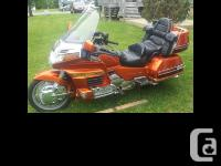2000 Honda GL1500 SE Goldwing 25th-Anniversay Edition
