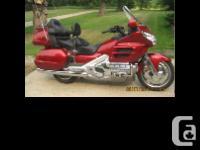 2004 Honda Goldwing GL1800 $1050 0 USD Stereo six