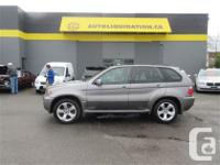 2006 BMW X5 4.4i four wheel-drive.... THIS LOCAL BC