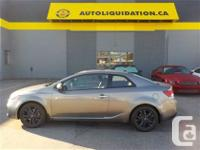 2011 KIA FORTE KOUP 2.4L SX LUXURY EDITION...THIS