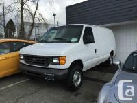 2006 Ford Econoline Cargo Van E-250 Comments:Custom