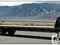 """8'6"""" x 24'+5' Beavertail Deck3 - 7000# Axles with"""