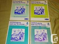 LOT OF (X4) GUITAR Playing Made Easy For Everyone