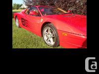 1989 Ferrari Testarossa Ferrari stirred up controversy