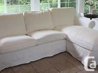 IKEA EKTORP Cover for Loveseat with Chaise, Blekinge