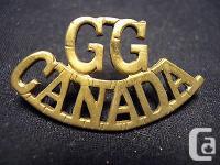Nice single Grenadier Guards of Canada WW II era