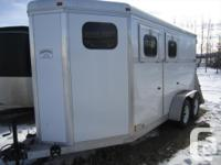 "THIS TRAILER IS LIKE NEW!!! Floor length - 15'6"", Width"