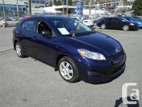 Just Arrived!! This 2009 Toyota Matrix comes with our