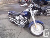 2007 Harley-Davidson FLSTFI Softail Fat Boy Cruiser.
