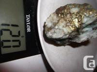 120 grs of Gold,silver,copper ore from a mine in south