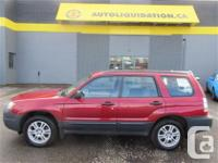 2008 SUBARU FORESTER ANNIVERSARY EDITION AWD...THIS