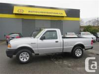 2009 FORD RANGER XL REG CAB ...THIS LOCAL BC UNIT IS