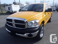 2007 Dodge Ram 1500 Quad Cab Short Box four wheel-drive
