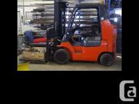 2004 Toyota 7000 Forklift 2004 Toyota 7000 Forklift