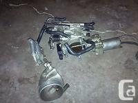 throttle body from 1990-1996 q45 vh45de 4.5l v8 engine.