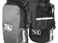 hamo420 store Expandable Trunk Storage Bag Bicycle