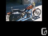 1997 Custom Built Harley Davidson Wide Glide Custom