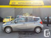 2014 NISSAN VERSA NOTE SV...THIS LOCAL BC UNIT WITH NO