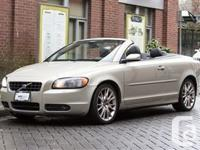 2007 Volvo C70 T5 ZANZIBAR GOLD METALLIC (GOLD) ON