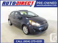 This 2013 Kia Rio5 is great on gas and you will still