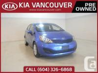 2014 Kia Rio LX+Great fuel economy and comfort are just