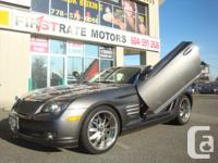 2004 CHRYSLER CROSSFIRE LIMITED. VICTORIA BC VEHICLE.