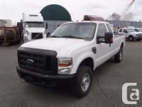 2008 Ford F-350 SD XL SuperCab Long Box four