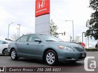 2007 Toyota Camry LE. Local Vehicle. No Accidents.