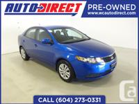 Here we have a beautiful 2013 Kia Forte. blue in color