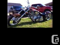 2006 Big Bear Chopper Sled 250 S and S engine Baker 6