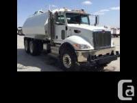 2012 Peterbilt 348 100.0 Gallon Barrel Water Truck 2013