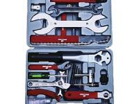 This 25-piece bicycle tool kit will help you keep your