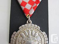 A fullsize Original Silver Croatian Homeland's