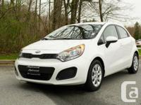 With big time personality. this 2015 Kia Rio5 LX+ will