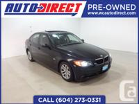 Just in! This beautiful 2007 BMW 328i has a 3.0L engine