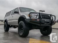 3 Lift Kit. 33 tires. 3.4l 190hp V6. 4x4. Powered
