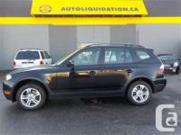 2008 BMW X3 3.0i...THIS LOCAL BC UNIT IS EQUIPPED WITH