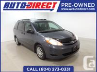 This 2009 Toyota Sienna eight passenger van is very