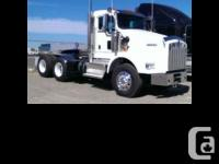2015 Kenworth T800 Day cab Very low hours and miles