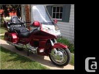 2000 Honda GL1500 Goldwing Anniversary Edition. Fully