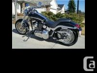 2003 Harley Davidson FXSTD Softail Deuce Anniversary.