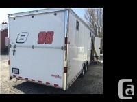 2011 Wells Cargo Mototrac Enclosed Trailer. This
