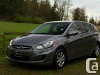 Express yourself with this 2014 Hyundai Accent GL.