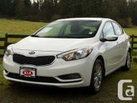 Expect to be thrilled in this 2015 Kia Forte LX! With a