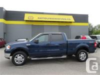 2008 FORD F150 SUPER CREW four wheel-drive XLT ...THIS
