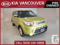 2014 Kia Soul LX+The very fuel efficient 1.6L engine