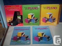 Bastian Piano Basics five Music Books Lot : Level two +