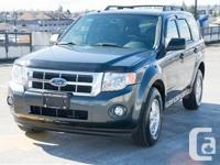 Ford Escape 4x4. four Cyl. Leather. Heated Front Seats.