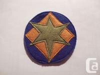 You are bidding on a Brand New Reproduction felt patch